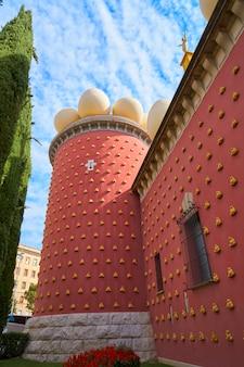 Salvador dali museum in figueres von katalonien