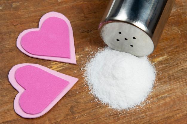 Salz verursacht bluthochdruck und herzkomorbiditäten