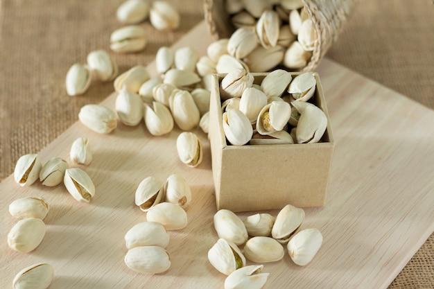 Salzige pistazien