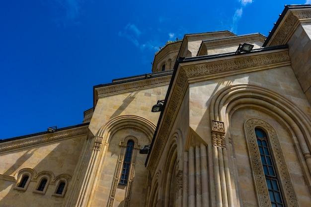 Sameba-kathedrale in tiflis, georgia
