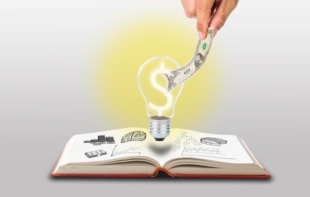 Sammle geld für deine idee mit der hand ein