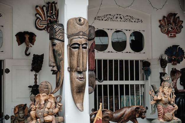 Sammlung berühmte traditionelle andenken sri lankas