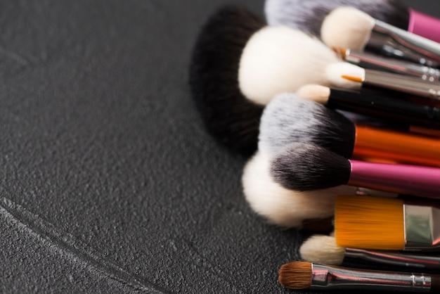 Sammlung kosmetikbürsten