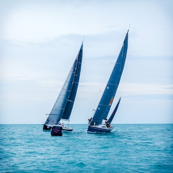 Samui regatta 2015 event am chaweng strand.