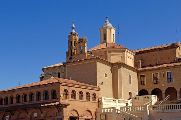 San francisco kirche, tarazona, saragossa, aragonien, spanien