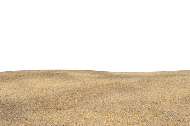 Sand auf weiß