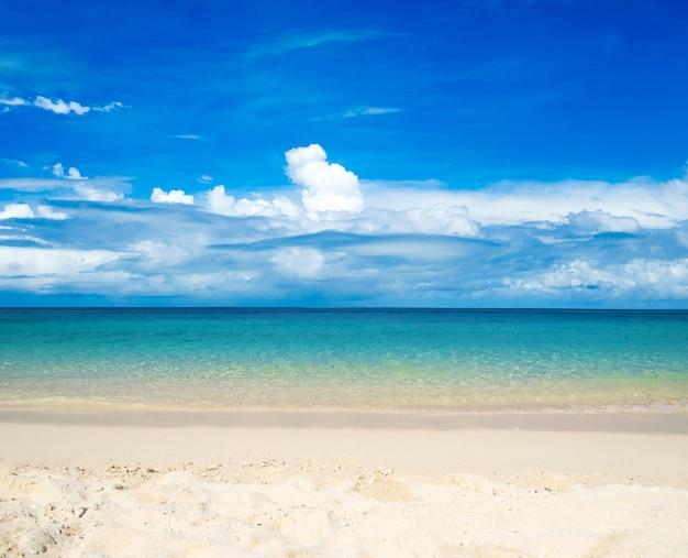 Sand des strandkaribikmeeres