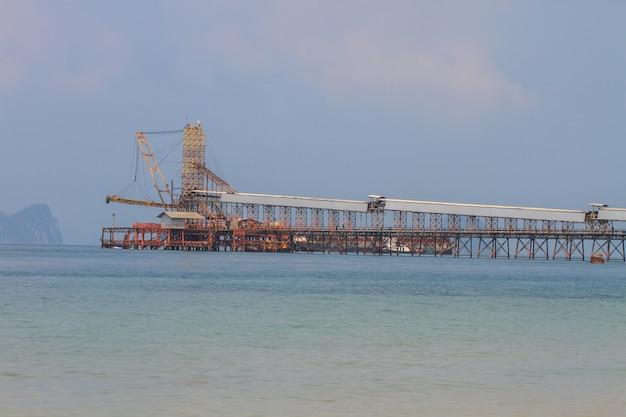 Sand saugen schiff