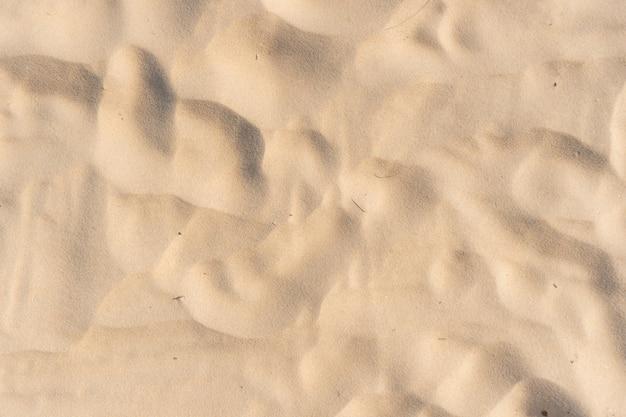 Sand textur hintergrund ansicht von oben