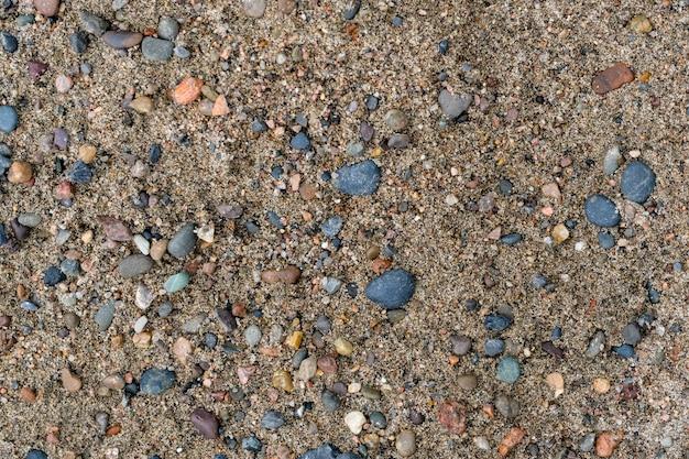 Sand und felsen textur hintergrund. beige naturtöne