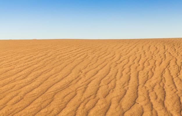 Sanddünen von mesquite flat in der death valley desert - kalifornien