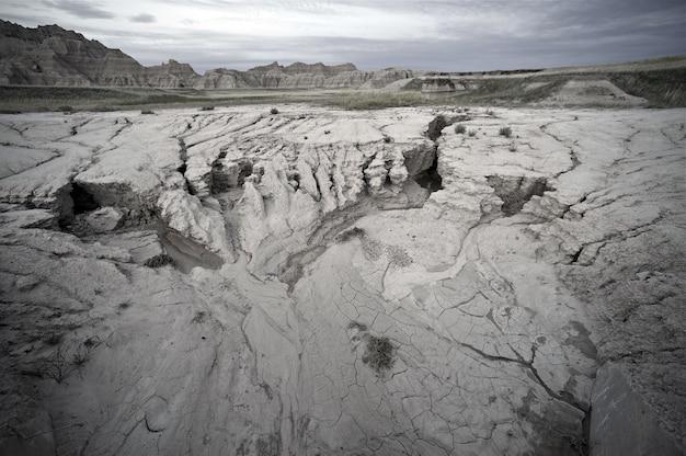 Sandiges badlands