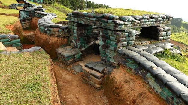 Sandsack-bunker