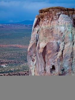 Sandsteinklippe, amangiri, schlucht-punkt, hoodoo-spur, utah, usa