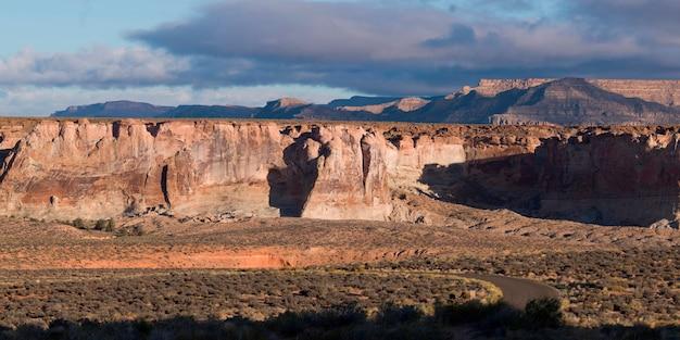 Sandsteinklippen, amangiri, schlucht-punkt, hoodoo-spur, utah, usa