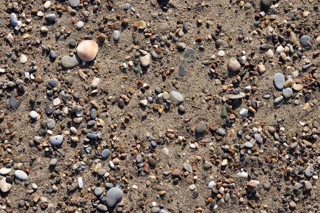 Sandstrand und sonniger tag