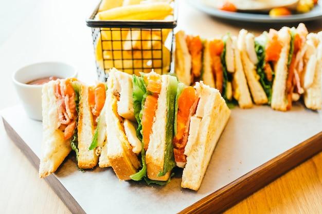 Sandwich hühnchen