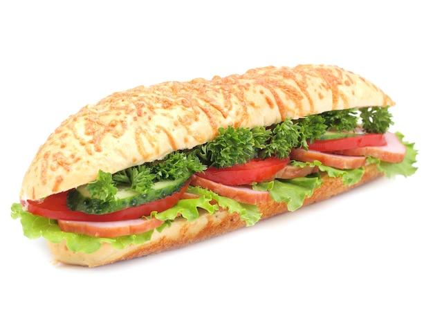 Sandwich isoliert