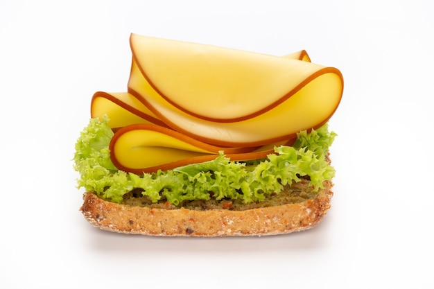 Sandwich mit salatkäse