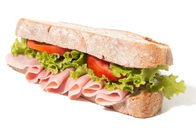Sandwich mit schinken