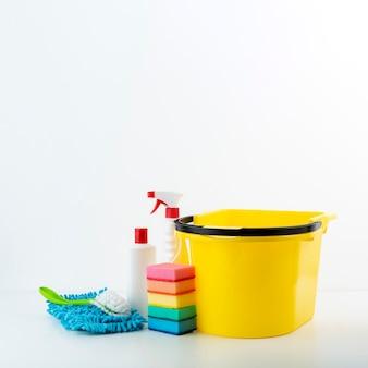 Sanitärprodukte mit textfreiraum