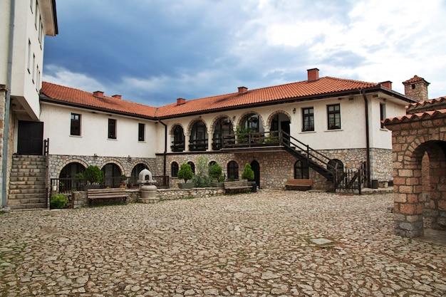 Sant naum kloster in mazedonien, balkan