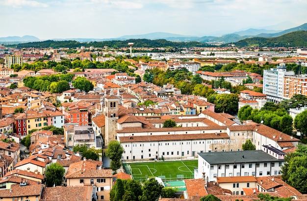 Santi faustino e giovita kirche in brescia - lombardei, italien