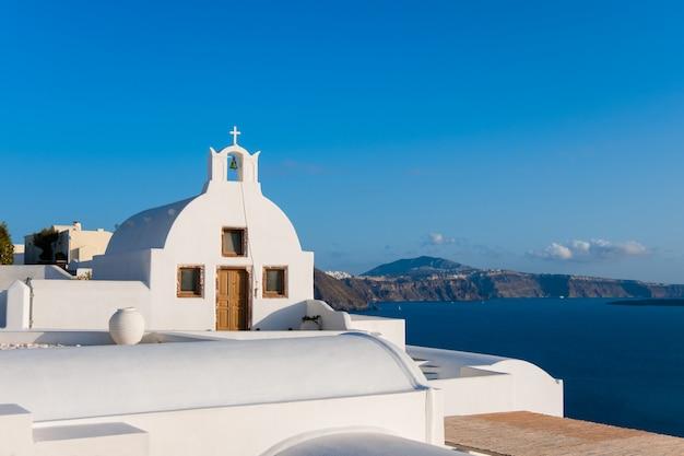 Santorini-insel, lokale kapelle in oia-dorf