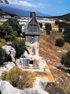 Sarkofag stein