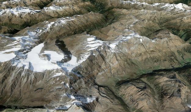 Satellitenansicht textur