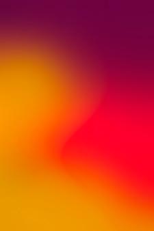 Satte farben in gradation
