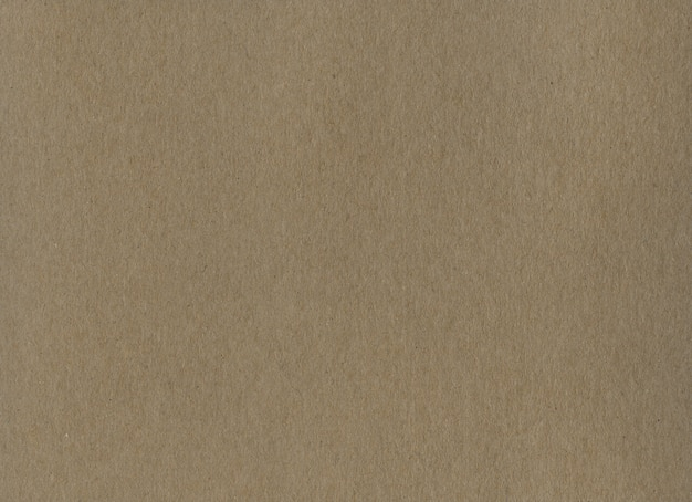 Saubere braune kraftkartonpapier hintergrundtextur.
