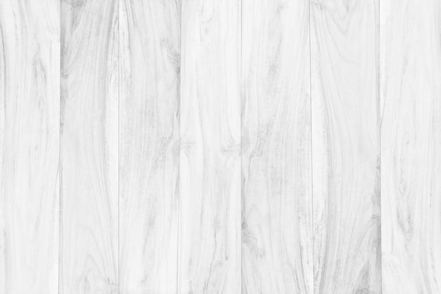 Saubere holzfußbodenplatte des weißen holztischspitzenbeschaffenheitshintergrundes