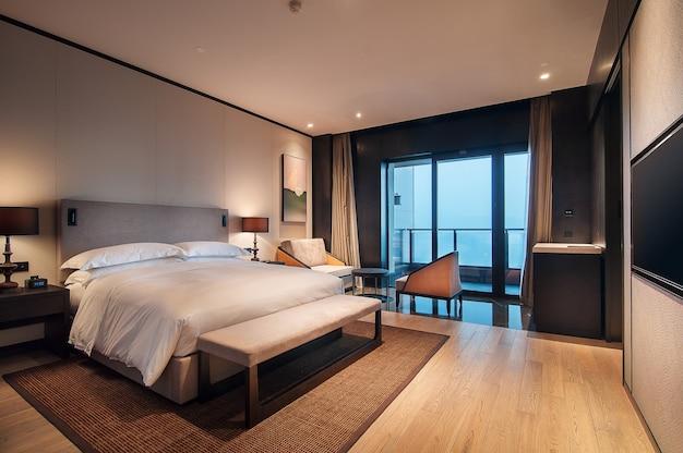 Saubere und ordentliche hotelzimmer