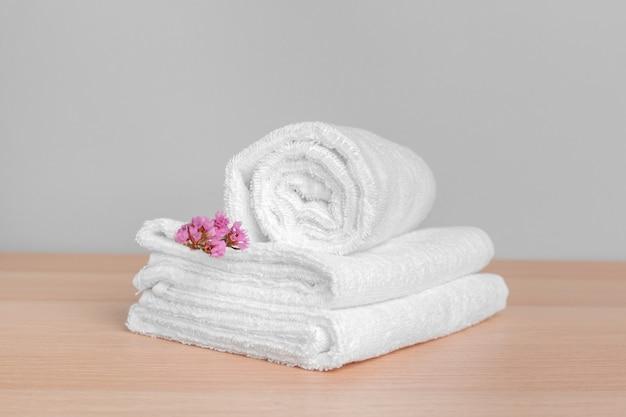 Saubere weiche handtücher