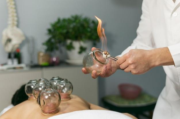 Saugnapfverfahren für männliche kunden