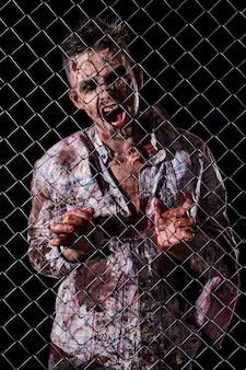 Scary zombie kostüm cosplay
