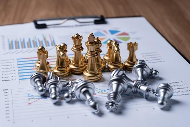 Schach auf geschäftsbericht