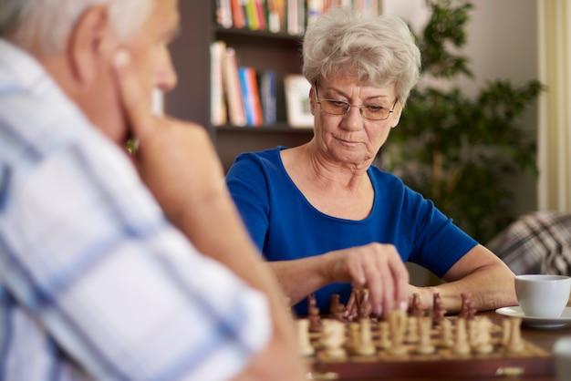 Schach ist ein spiel, das geduld erfordert