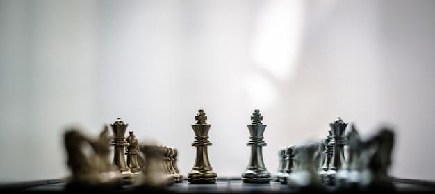 Schach ist wie ein geschäft für die zukunft, um den wettbewerb zu gewinnen.