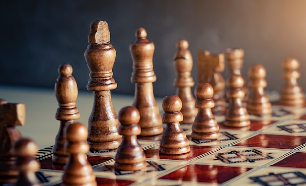 Schachbrettfiguren