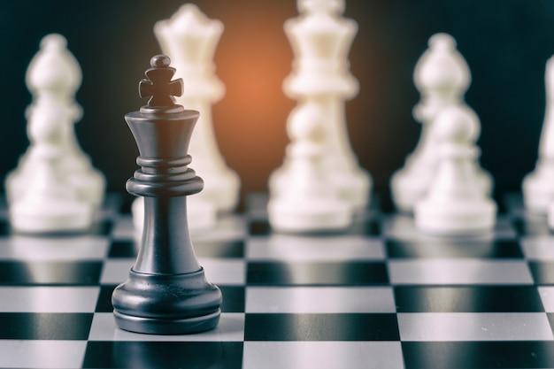 Schachbrettspiel für führungskonzepte