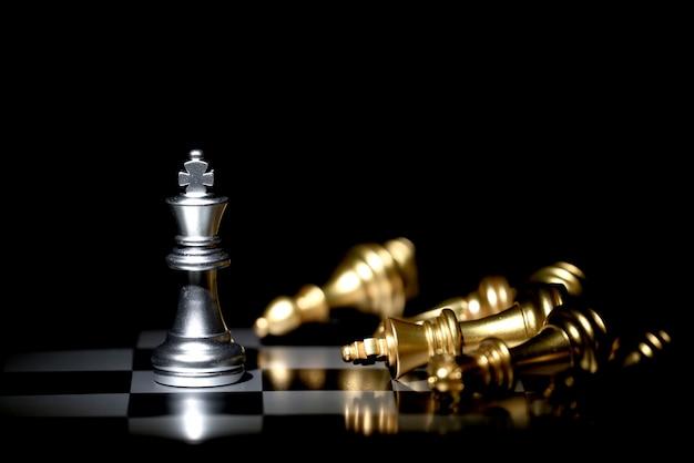 Schachbrettspiel für wettbewerb und strategie