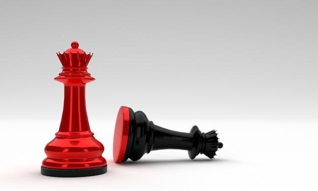 Schachfiguren königin