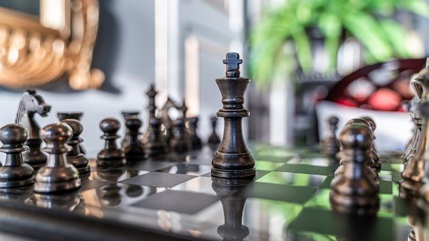 Schachgewinnspiel