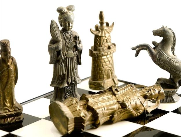 Schachmatt mit chinesischem schach