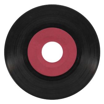 Schallplatte isoliert