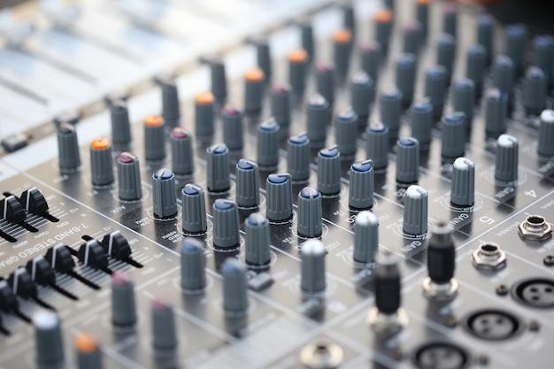 Schalter, sound controller, mischpult