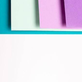 Schattierungen von coolen farben muster