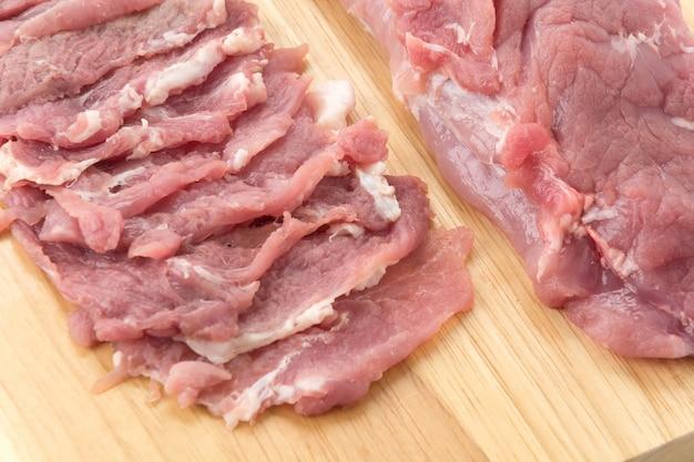 Scheibe schweinefleisch